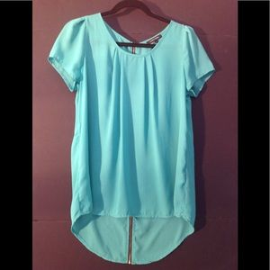 Papermoon top -green